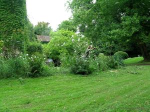 Création de jardins patrimoniaux