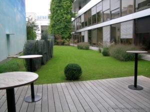 Conception de jardins d'entreprise